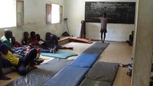 Projet salle de gym à Rufisque