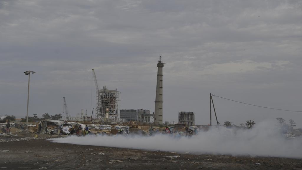 Bargny contre l'installation d'une centrale à charbon.