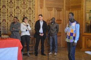 Accueil de la délégation rufisquoise par la ville de Nantes